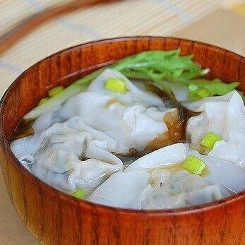 荠菜鲜虾馄饨