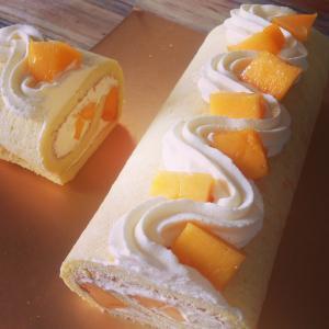 菠萝慕司蛋糕