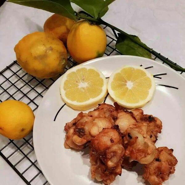 软煎柠檬鸡