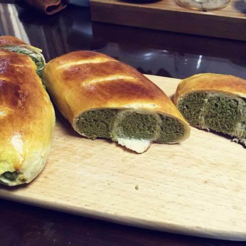 豆渣面包子