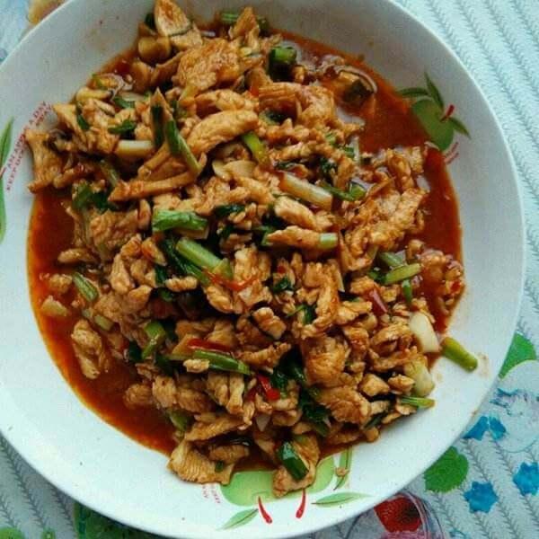 泰式杏仁炒鸡肉