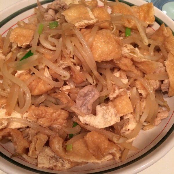 金针菇扒油豆腐