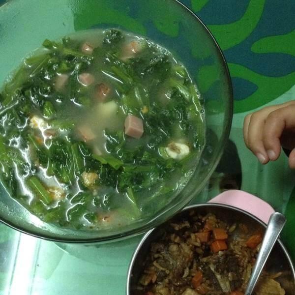 豆苗排骨汤