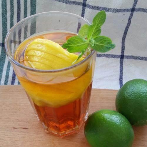 美味柠檬红茶