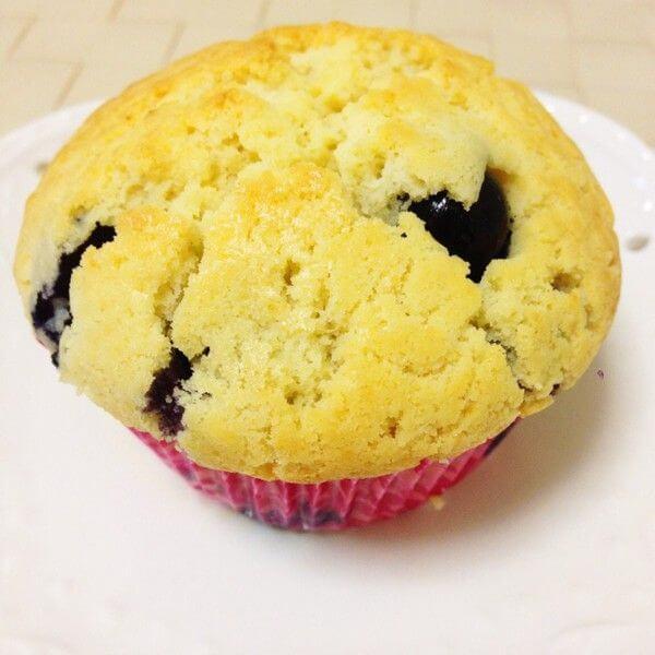蓝莓天使蛋糕