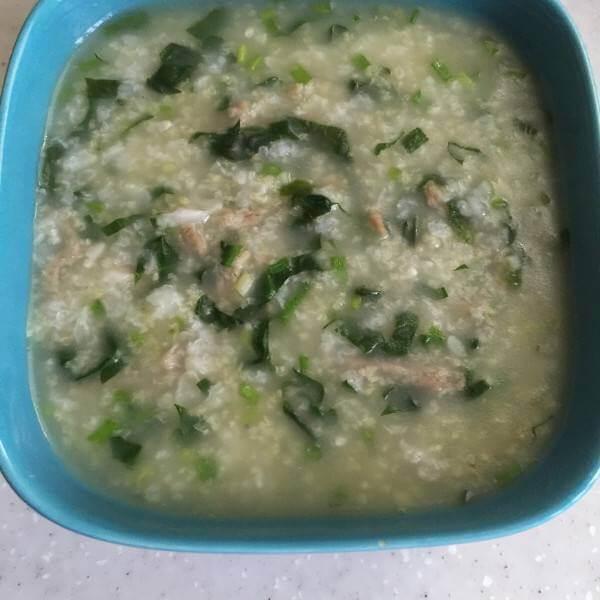 蔬菜牛肉粥