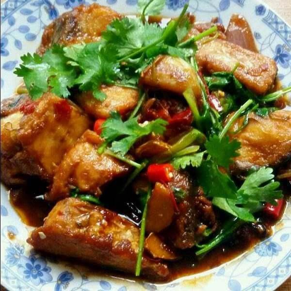 香辣肉炒菜