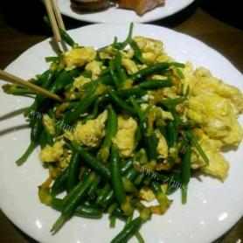 黄花炒鸡蛋