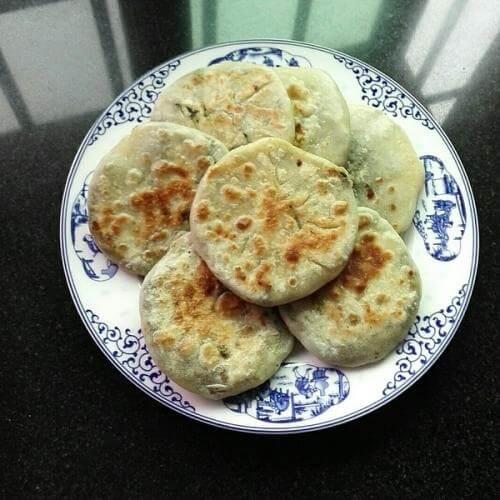 酸菜鸡蛋饼