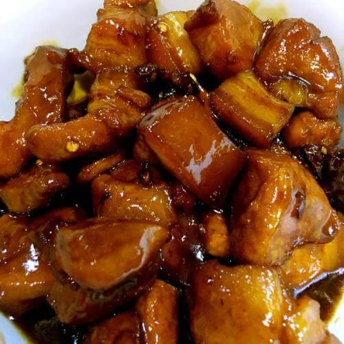 肉菜の红烧肉
