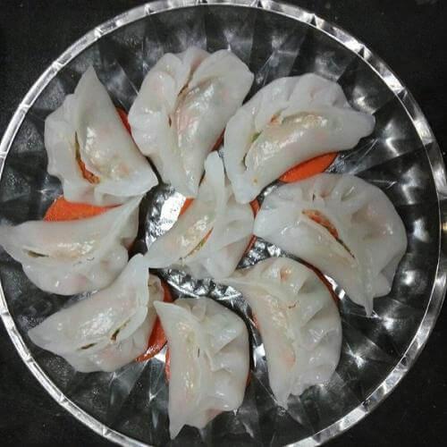 虾肉水晶包