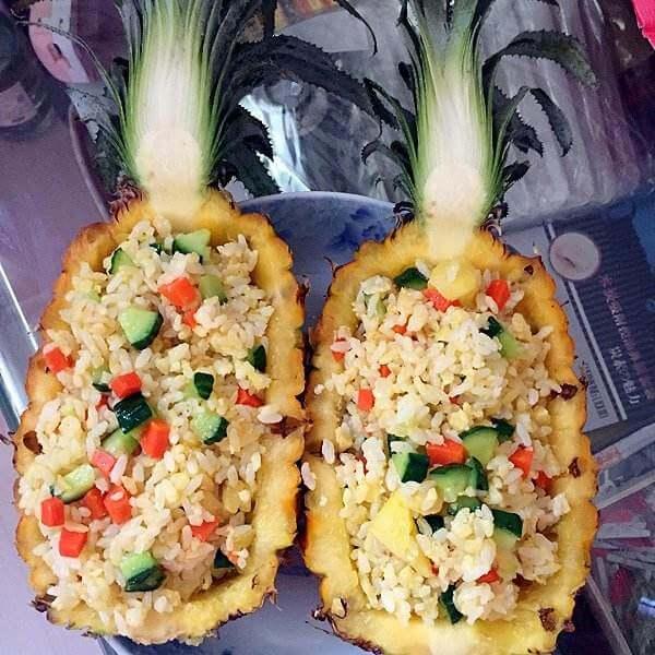 三色小菠萝