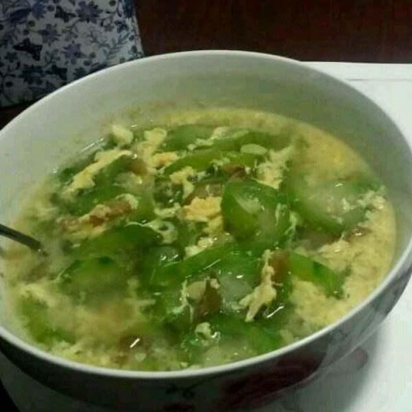 节瓜蛋花汤