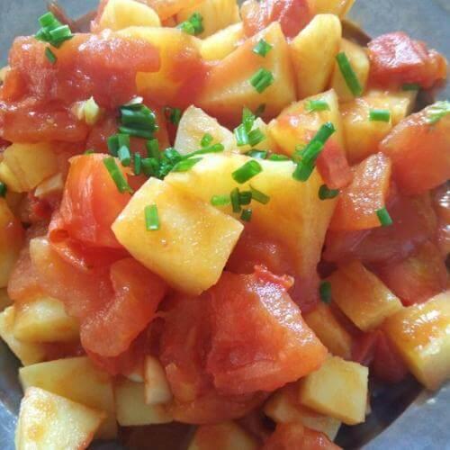 土豆西红柿