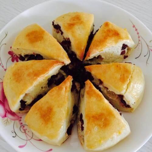 葡萄干司康(酵母版)