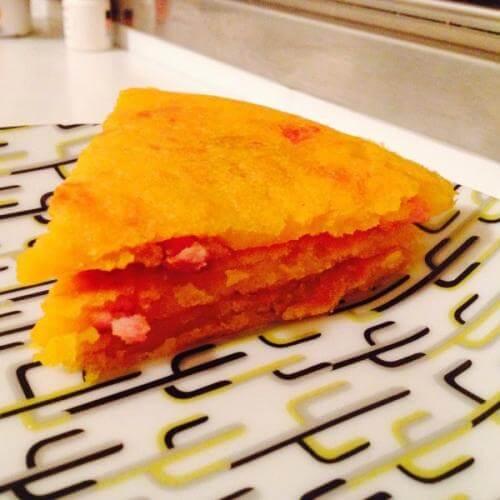 南瓜花煎饼