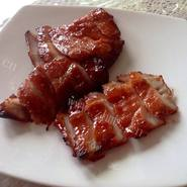 胡萝卜炒叉烧