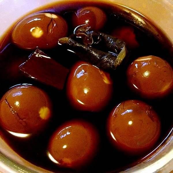 鲜香五香茶叶蛋