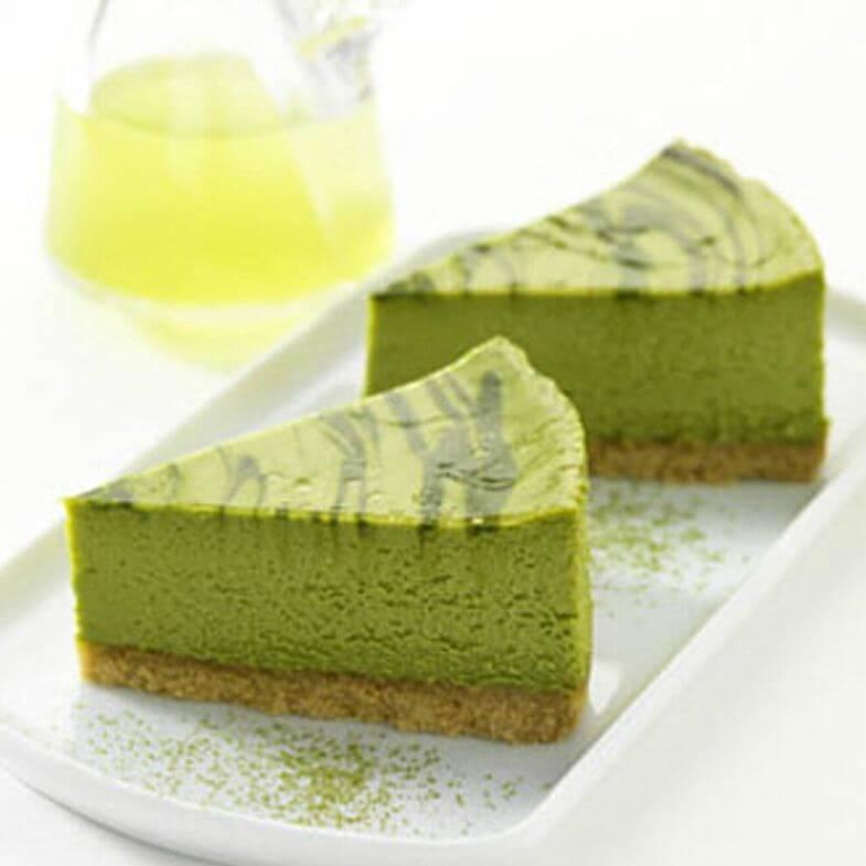 绿茶芝士蛋糕
