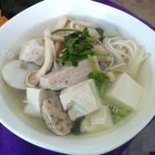 豆腐瘦肉汤
