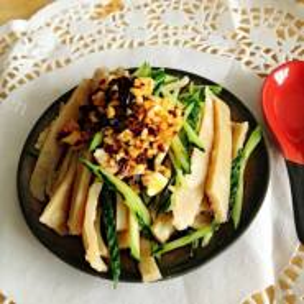 豆豉拌黄瓜