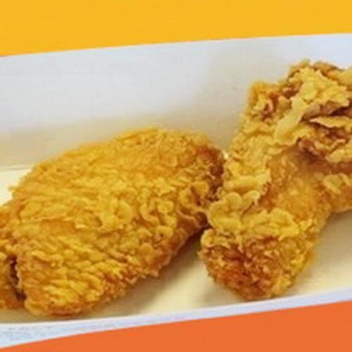 美味的香辣鸡翅