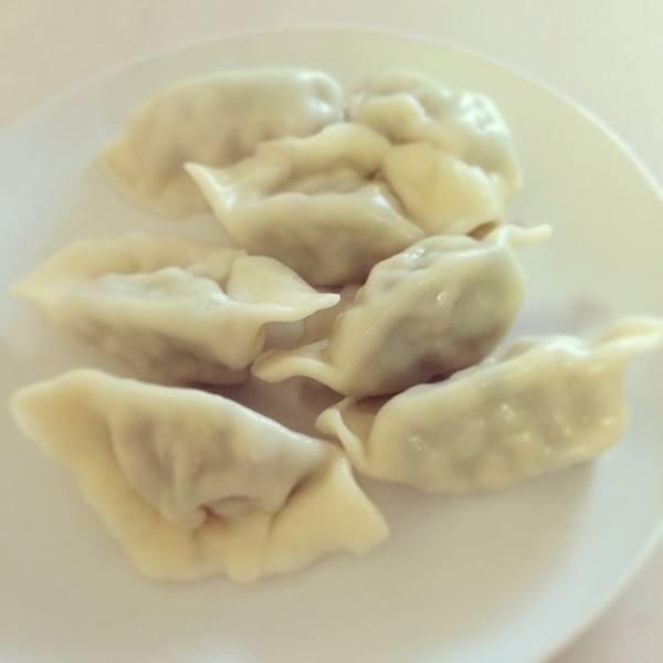 蘑菇肉饺子