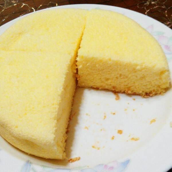 九寸戚风蛋糕