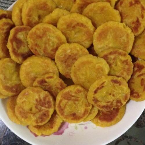 美味香煎南瓜饼