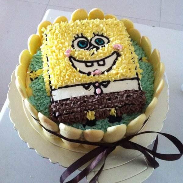 海绵生日蛋糕