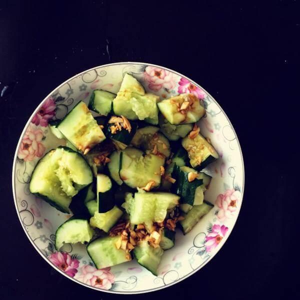 凉拌大头菜黄瓜