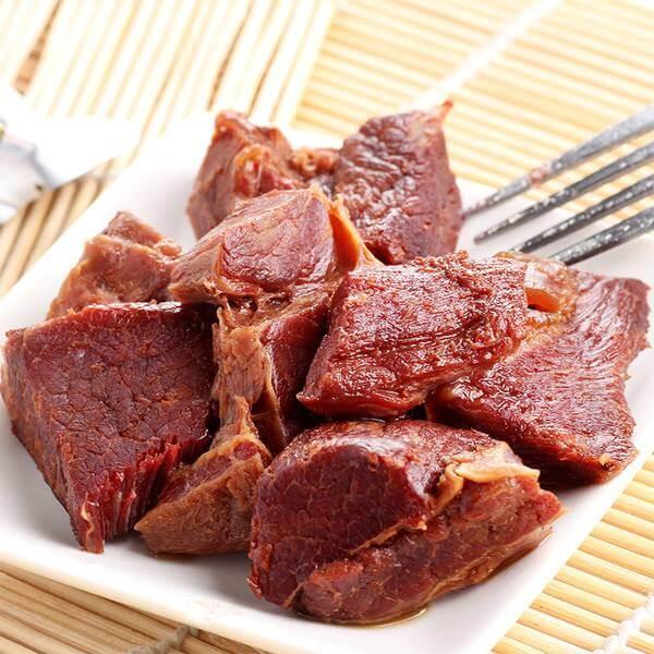 卤牛肉豆干
