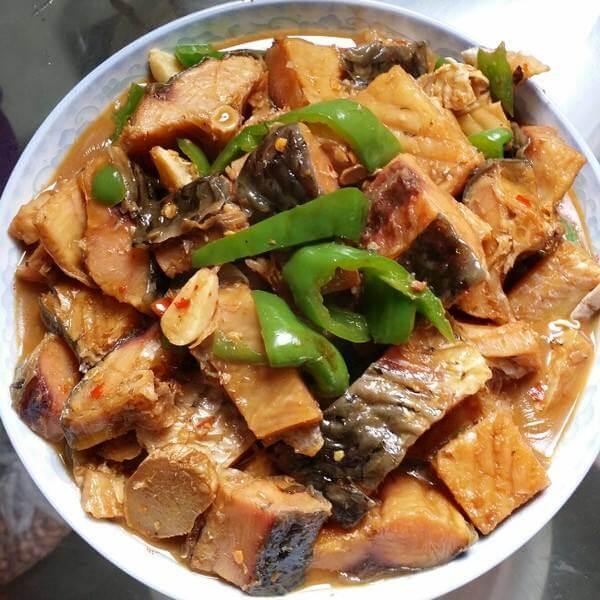 私房咸鱼蒸豆腐