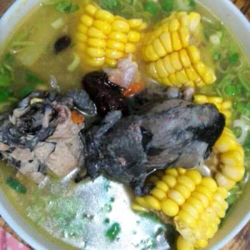 乌鸡玉米汤