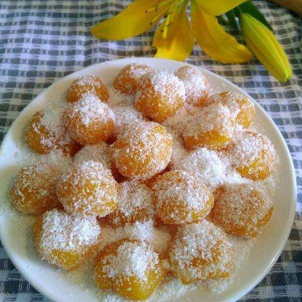 南瓜椰蓉包