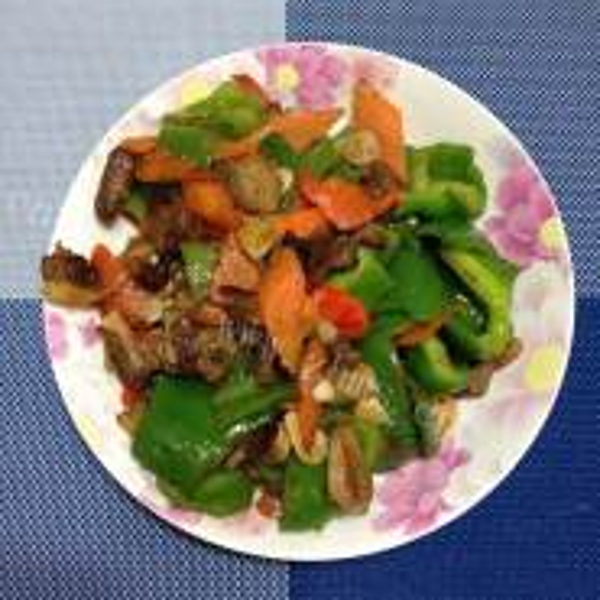 肉炒大辣椒