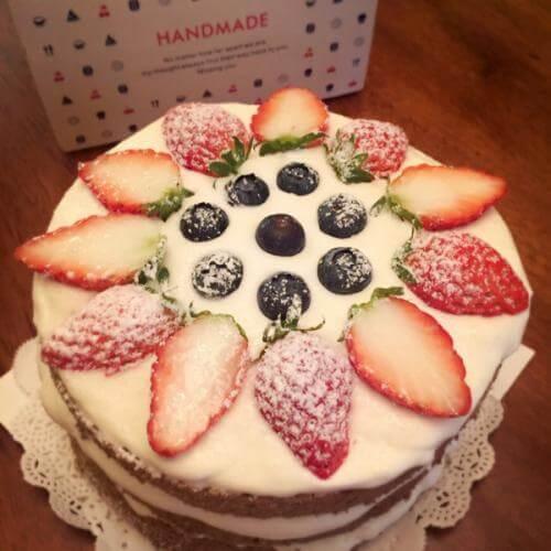 低糖天使蛋糕