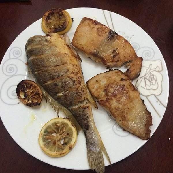 香煎马哈鱼块