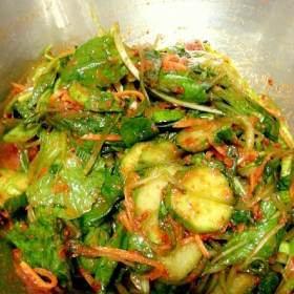 卷心菜拌黄瓜