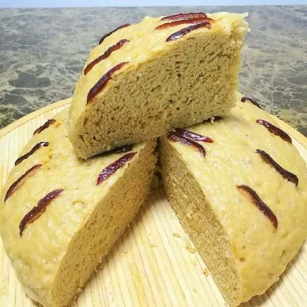 红糖玉米发糕