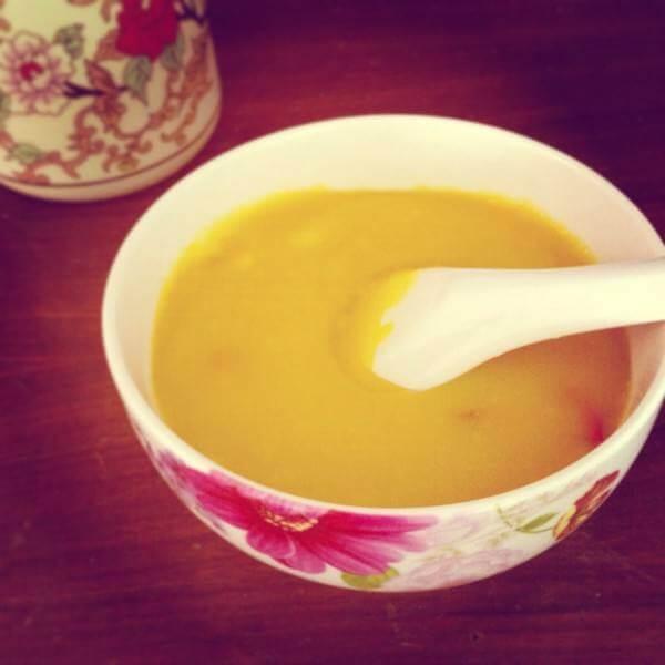 奶味南瓜汁