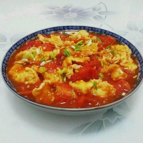 鸭蛋炒西红柿