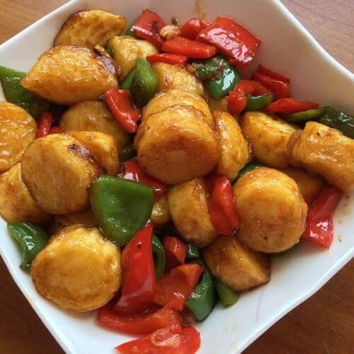 美味红烧日本豆腐