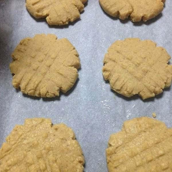 奶香花生饼