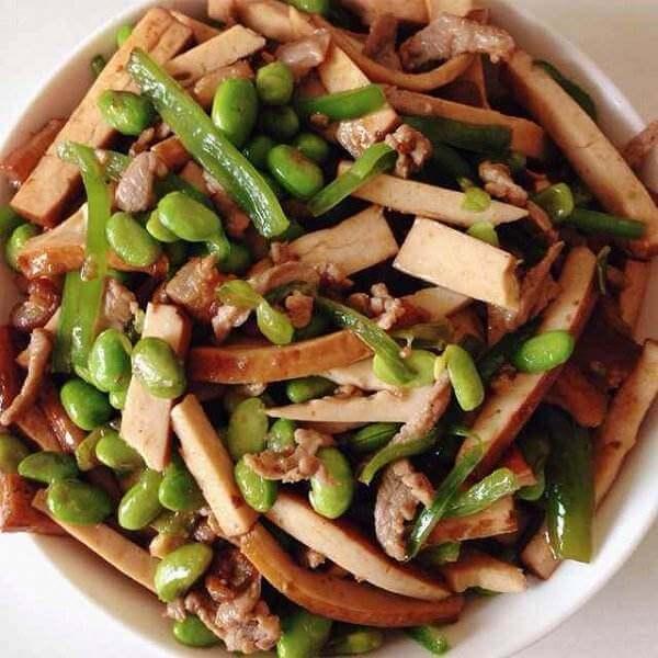 豆干洋葱炒肉丝