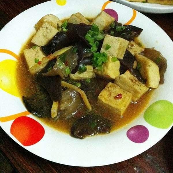 木耳炒干豆腐