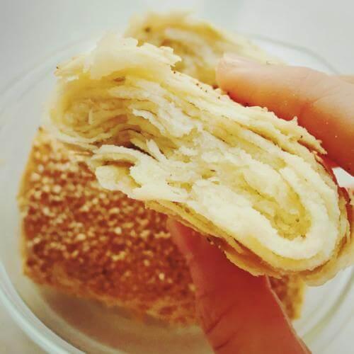 葱香油酥烧饼