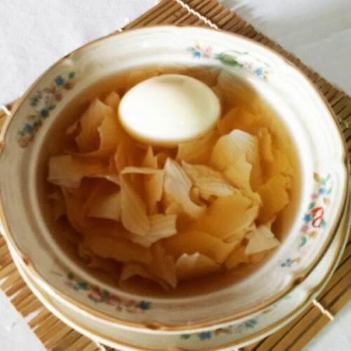 鸡蛋腐竹糖水