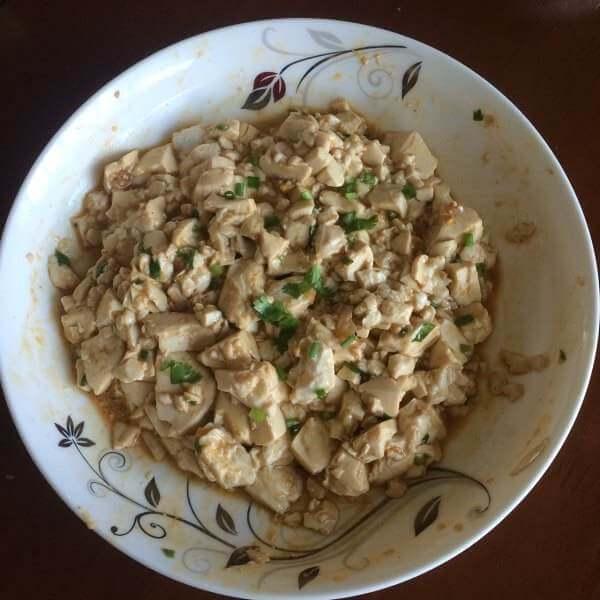咸蛋拌豆腐