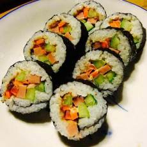 简单紫菜包饭